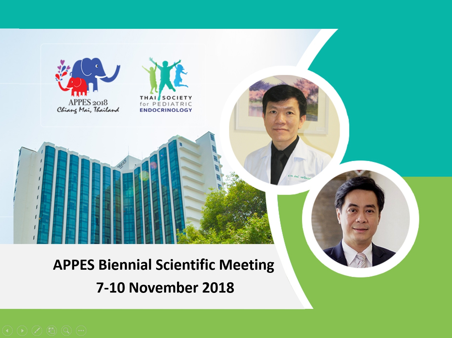APPES Biennial Scientific Meeting 7-10 November 2018