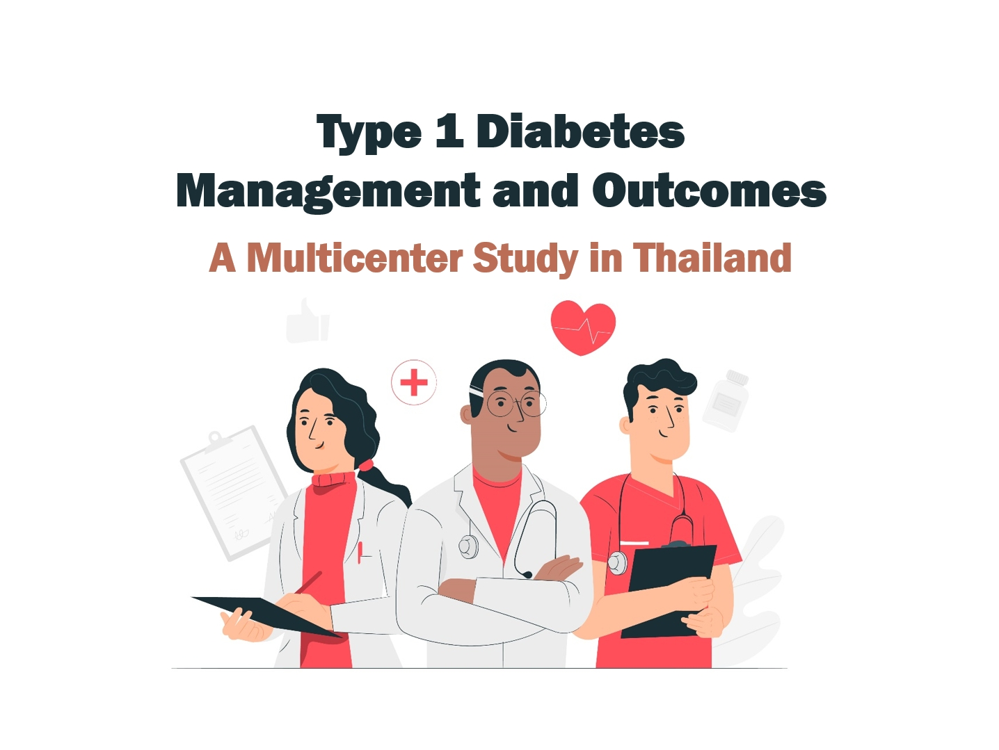 Type 1 diabetes management and outcomes: A multicenter study in Thailand