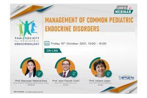Management of Common Pediatric Endocrine Disorders